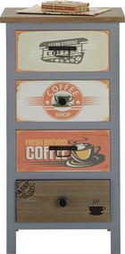 Komód Wesley - natúr színek/multicolor, modern, fa/faanyagok (45/85/36cm) - MÖMAX modern living