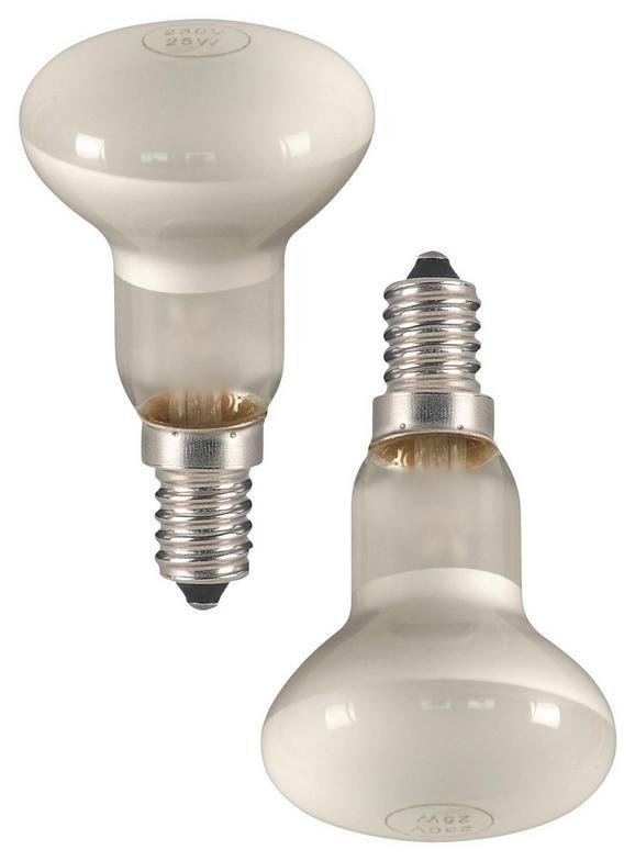 Leuchtmittel 184011-2, max. 40 Watt - Glas/Metall (5/8,5cm)