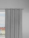Ösenschal Pepsi Grau 140x245cm - Grau, KONVENTIONELL, Textil (140/245cm) - Mömax modern living