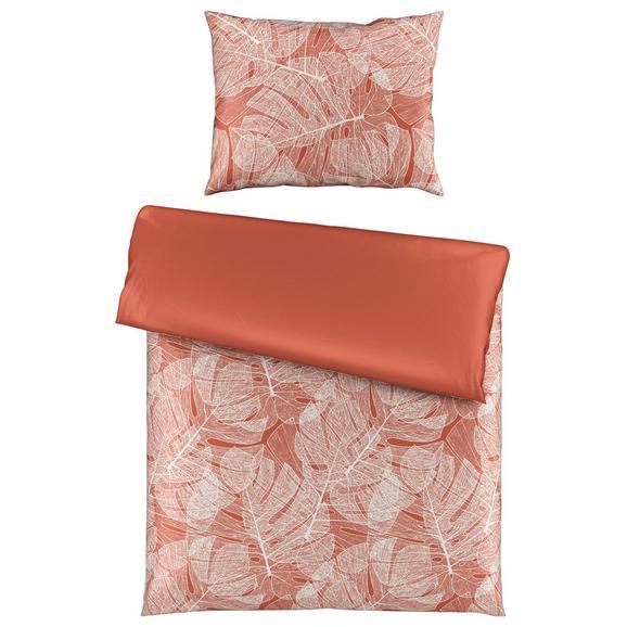 Lenjerie De Pat Frida Wende - teracota, textil (140/200cm) - Premium Living
