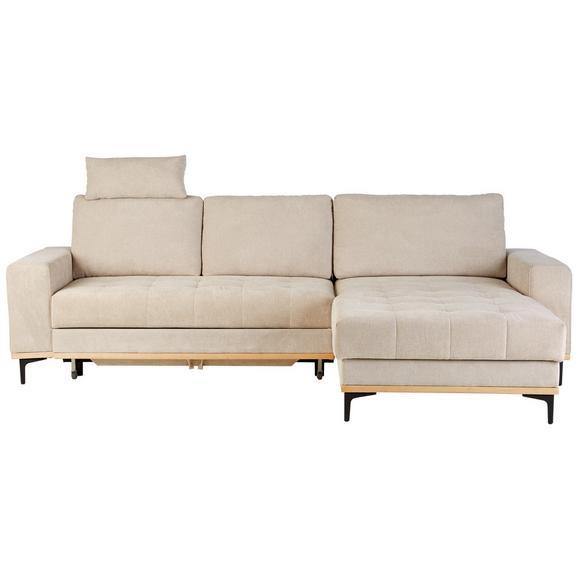 Canapea Modulară Casper - bej, Konventionell, textil (272/87/171cm) - Zandiara