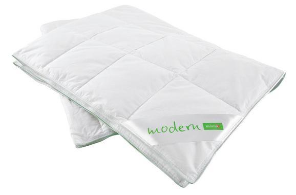 Kazettás Paplan Könnyű - Fehér, Textil (135/200cm) - MÖMAX modern living