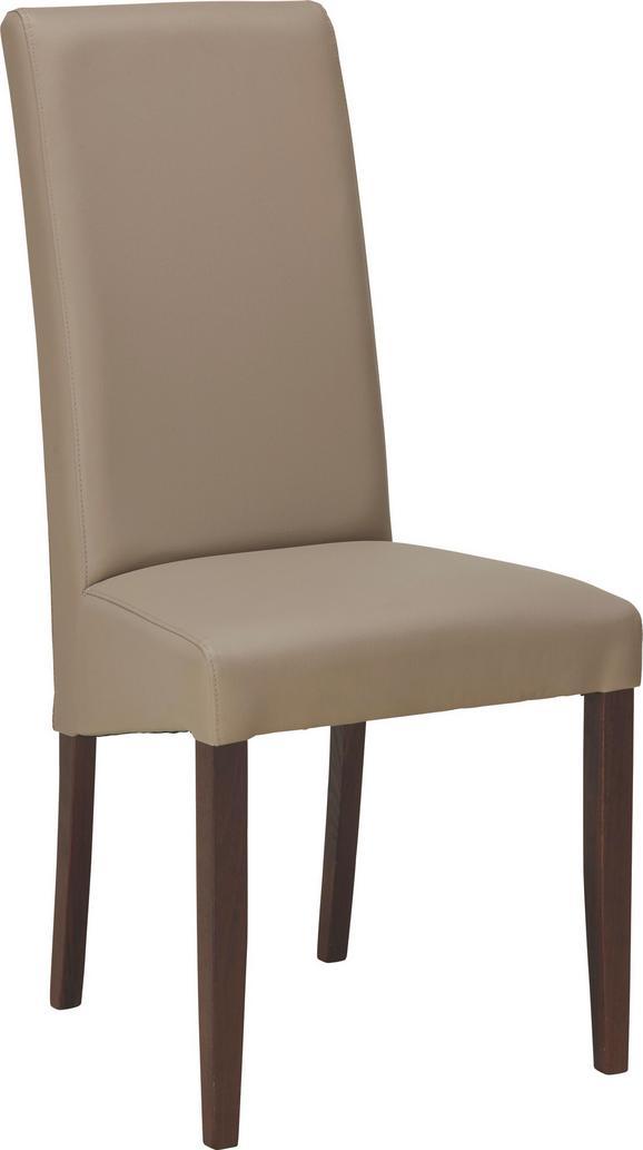 Stuhl in Schlammfarben - Schlammfarben, KONVENTIONELL, Holz (48/104/48cm) - Zandiara