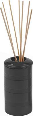 Raumdufthalter Lora, D: ca. 6cm - Schwarz, Keramik (6cm) - Mömax modern living