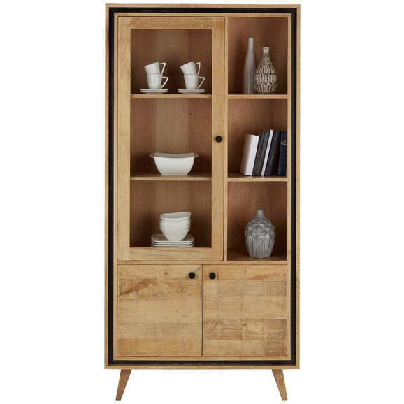 vitrine in braun online kaufen m max. Black Bedroom Furniture Sets. Home Design Ideas