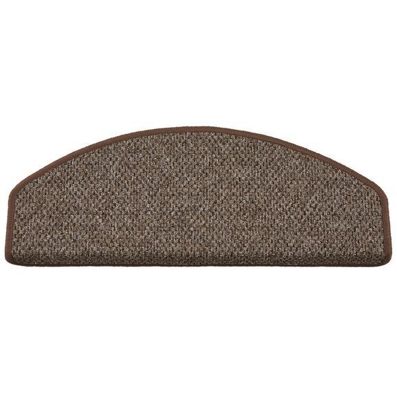 Stufenmatte Seattle Braun - Braun, Basics, Textil (65/28cm) - Modern Living