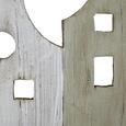 Garderobe Celi - Multicolor, MODERN, Holz/Metall (54,5/23,5/6cm) - Modern Living