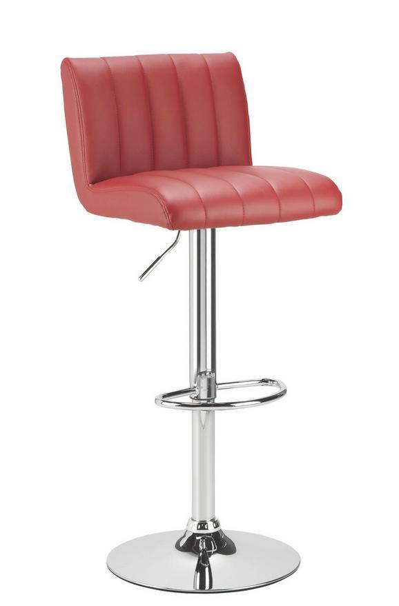 Bárszék Cool - Piros, modern, Fém (42/87-108/53cm) - Mömax modern living
