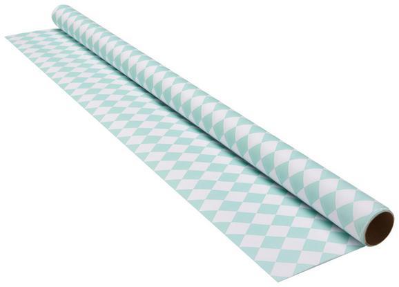 Darilni Papir Marie - meta zelena/bela, papir (70/200cm) - Mömax modern living