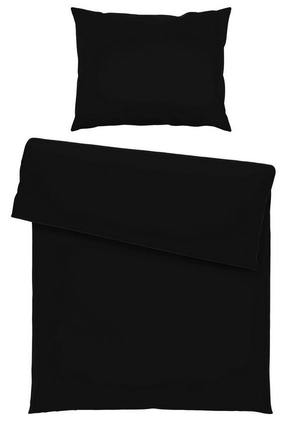 Bettwäsche Iris Schwarz 140x200cm - Schwarz, Textil (140/200cm) - Mömax modern living