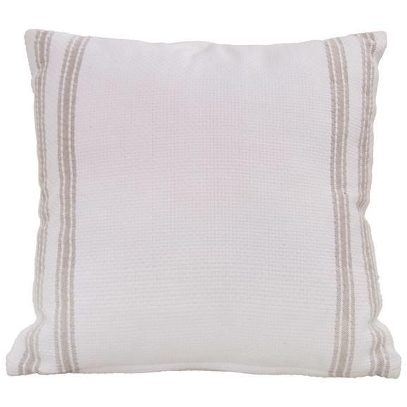 Zierkissen Anja Weiß ca. 45x45cm - Weiß, MODERN, Textil (45/45cm) - Mömax modern living