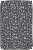 Haustiermatte Lola Anthrazit/braun - Anthrazit/Braun, Textil (100/150cm)