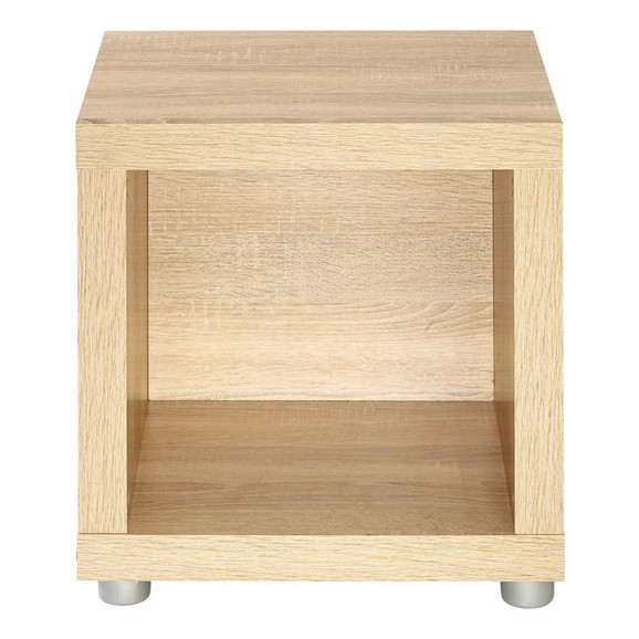 beistelltisch in eiche lackiert online kaufen m max. Black Bedroom Furniture Sets. Home Design Ideas