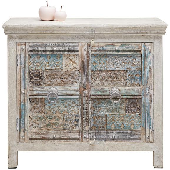 sideboard vintage wei blau braun online kaufen m max. Black Bedroom Furniture Sets. Home Design Ideas