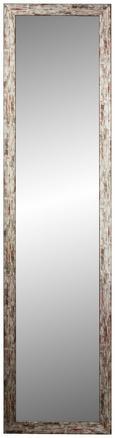 Wandspiegel Grau 40x160cm - Grau, MODERN, Glas/Holzwerkstoff (40/160cm)