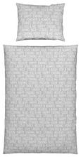 Bettwäsche Typelove Hellgrau 140x200cm - Hellgrau, MODERN, Textil (140/200cm) - Mömax modern living