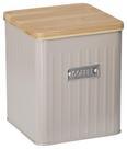Box mit Deckel Cosima Taupe - Taupe, MODERN, Holz/Metall (14/14/16cm) - Zandiara