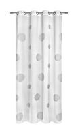 Ösenschal Circle, ca. 140x245cm - Weiß, MODERN, Textil (140/245cm) - Mömax modern living