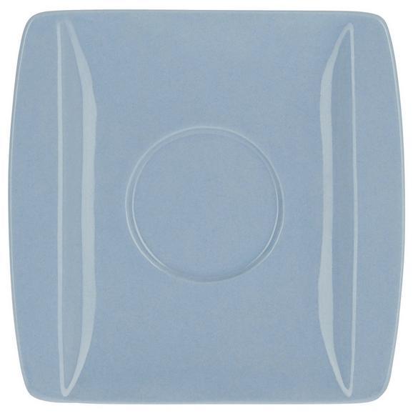 Krožniček Pura Bleu - svetlo modra, Moderno, keramika (10,7/10,8cm) - Mömax modern living