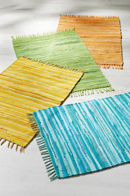 Fleckerlteppich Tonal in Türkis, ca. 60x120cm - Türkis, LIFESTYLE, Textil (60/120cm) - MÖMAX modern living