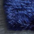 Kunstfell Teddy Blau 100x150cm - Blau, Kunststoff (100/150cm) - Mömax modern living