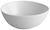 Schüssel Nele aus Steinzeug in Weiß - Weiß, MODERN, Keramik (19,8/16,8/7,5cm) - Premium Living
