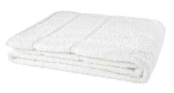 Duschtuch Melanie Weiß - Weiß, Textil (70/140cm)