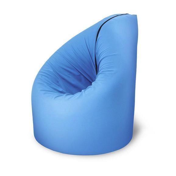 Sitzsack/liegematte in Blau - Blau, MODERN, Textil (210/90/10cm) - Modern Living