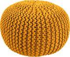 Sedežna Blazina Aline -ext- - rumena, tekstil (50/30cm) - Premium Living