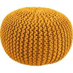 Sitzkissen Aline in Gelb ca. 50x30cm - Gelb, Textil (50/30cm) - Premium Living