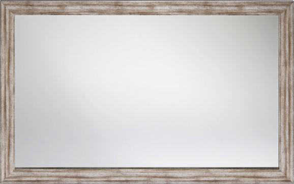 Fali Tükör Metallic - Nikkel/Ezüst, Faalapú anyag (70/110cm)