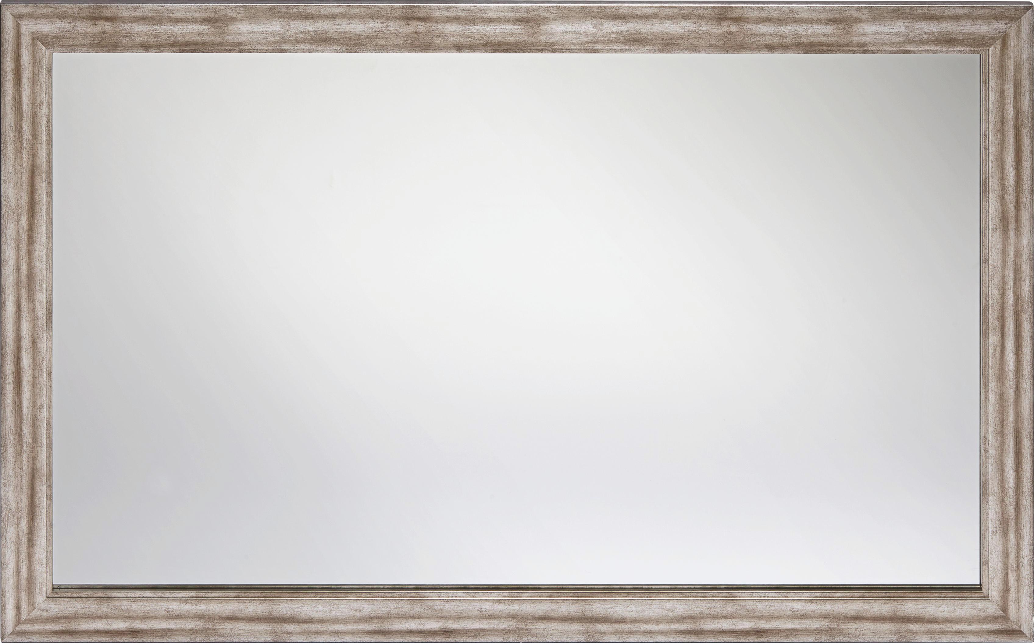 Fali Tükör Metallic - nikkel színű/ezüst színű, faanyagok (70/110cm)