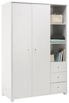 Kleiderschrank Milo - Weiß, MODERN, Holz (115/176/55cm) - Modern Living