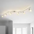 Proiector Bahar - argintiu/alb, Romantik / Landhaus, plastic/metal (180cm) - Modern Living