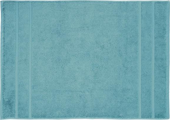BADEMATTE Melanie Aqua - Blau, Textil (50/70cm) - Mömax modern living