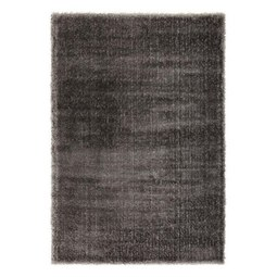 Hochflorteppich Florenz Anthrazit ca. 80x150cm - Anthrazit, MODERN, Textil (80/150cm) - Mömax modern living