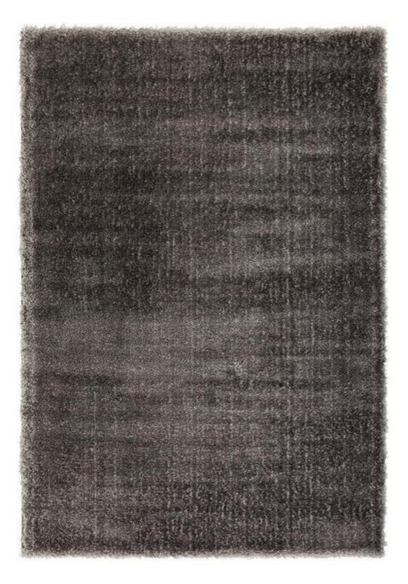 Hochflorteppich Florenz Schwarz 160x230cm - Anthrazit, MODERN, Textil (160/230cm) - Mömax modern living