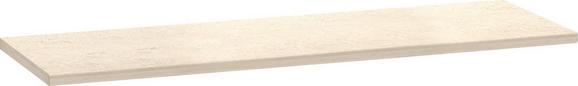 Munkalap Multiforte - Fehér, modern, Fa (183/3,9/60cm)