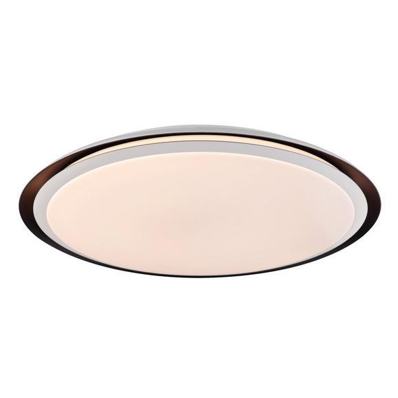 LED-Deckenleuchte Xaver max. 40 Watt - Opal/Schwarz, Kunststoff/Metall (56/8,5cm)