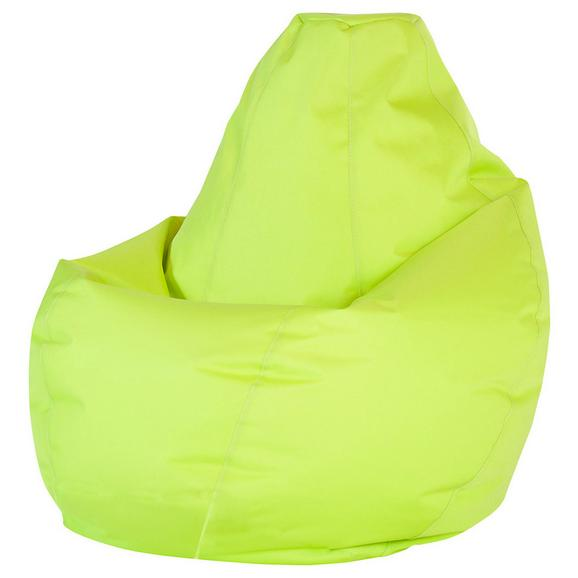 Sac De Şezut Soft L - verde limetă, Modern, textil (120cm) - Modern Living