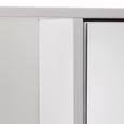 Spiegelschrank Weiß/Holz 'Rocco' - Weiß, MODERN, Glas/Holz (70/66/18,5cm) - Bessagi Home