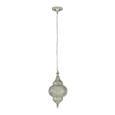 Viseča Svetilka Orient 2 -top- - srebrna, Trendi, kovina (21/43cm) - Mömax modern living