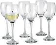 Kozarec Za Belo Vino Sarah - prozorna, Konvencionalno, steklo - Mömax modern living