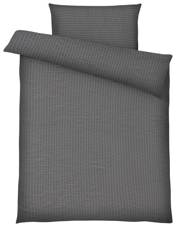 Ágyneműhuzat Brigitte - Szürke, konvencionális, Textil - Mömax modern living
