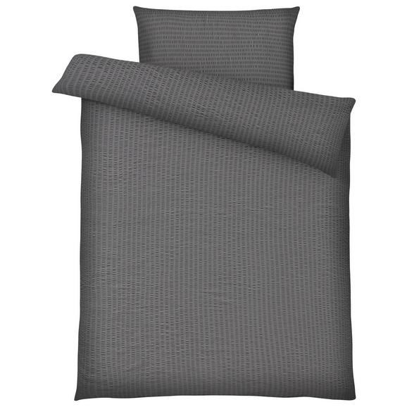 Posteljnina Brigitte - siva, Konvencionalno, tekstil - Mömax modern living