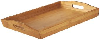 Tálca Bambusz - Barna, konvencionális, Fa (43,7/5,5/29,5cm) - Mömax modern living