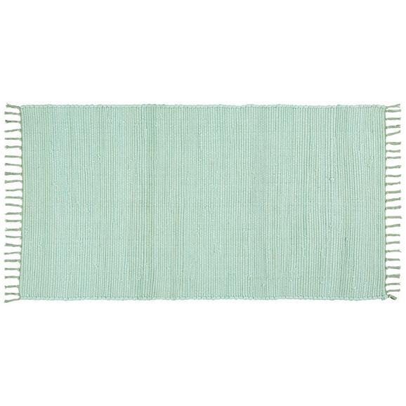 Fleckerlteppich Julia Hellgrün 60x90cm - Hellgrün, ROMANTIK / LANDHAUS, Textil (70/130cm) - Mömax modern living