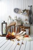 Tagesdecke Aksel Grau 125x150cm - Grau, MODERN, Textil (125/150cm) - Premium Living