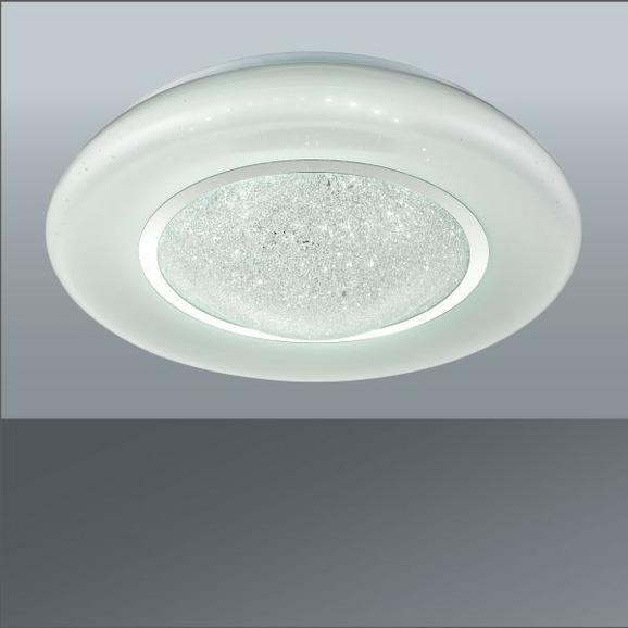 LED-Deckenleuchte Leana Weiß max. 24 Watt - Weiß, MODERN, Kunststoff/Metall (41/12/cm) - Mömax modern living