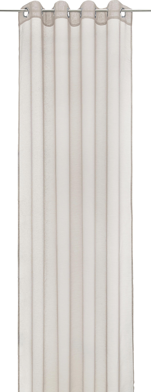 Készfüggöny Dolly - piros/antracit, textil (140/245cm) - MÖMAX modern living